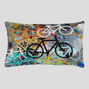 Bicycles Art Pillow Case