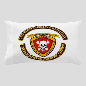 SSI - 3rd Reconnaissance Bn With Text USMC Pillow