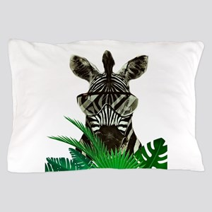 Hipster Zebra Pillow Case