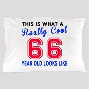 Really Cool 66 Birthday Designs Pillow Case