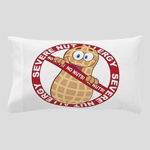 Severe Nut Allergy Pillow Case