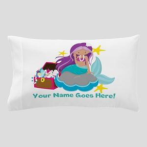 Purple Mermaid Pillow Case