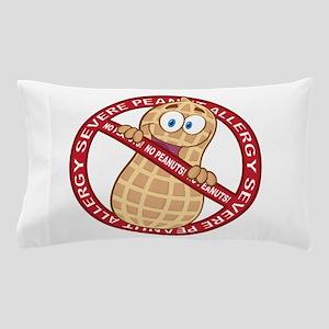 Severe Peanut Allergy Pillow Case