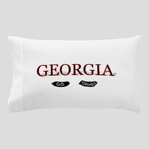 Georgia Bulldogs Pillow Case
