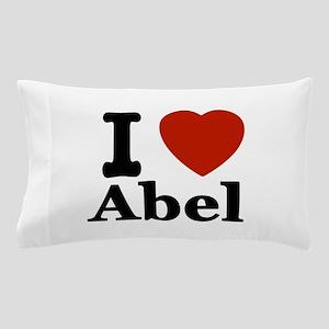 I love Abel Pillow Case