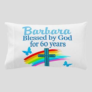 DELIGHTFUL 60TH Pillow Case
