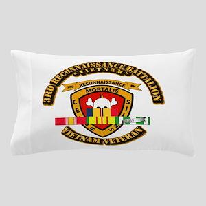 SSI - 3rd Reconnaissance Bn w VNSVC Ribbon Pillow