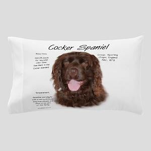 Cocker Spaniel (brown) Pillow Case