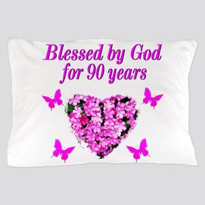 CHRISTIAN 90 YR OLD Pillow Case