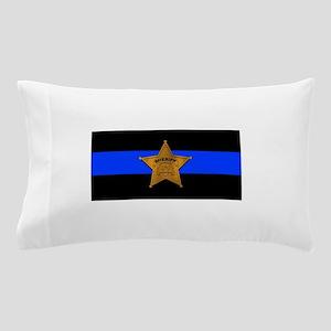 Sheriff Thin Blue Line Pillow Case
