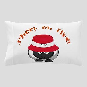 Sheep On Fire Pillow Case