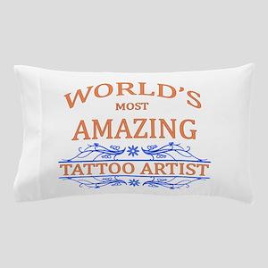 Tattoo Artist Pillow Case