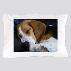 beagle sleeping Pillow Case