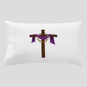 Season Of Lent Cross Pillow Case