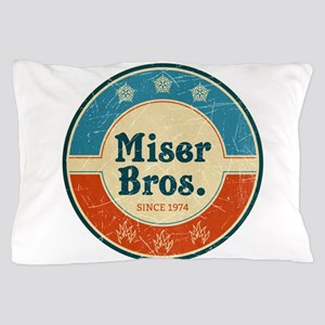 Miser Bros. Vintage Label Pillow Case
