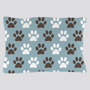 Paw Print Pattern Pillow Case