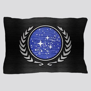 STARTREK UFP METAL 1 Pillow Case