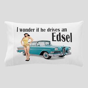 I wonder if he drives an Edsel? Pillow Case
