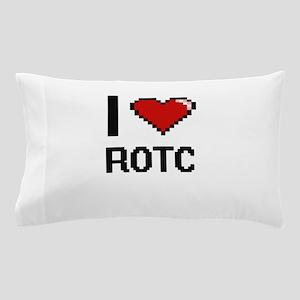 I Love Rotc Digital Design Pillow Case