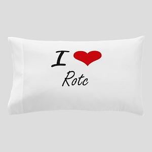 I Love Rotc Pillow Case