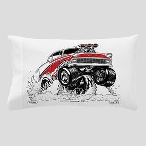 1956 Gasser wheelie-1 Pillow Case