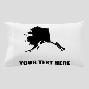 Custom Alaska Silhouette Pillow Case