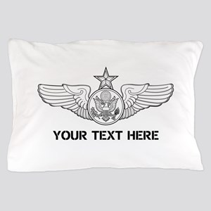PERSONALIZED SENIOR ENLISTED AIRCREW W Pillow Case