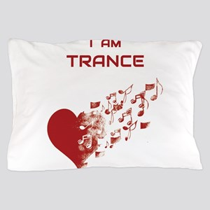 I am Trance Heart Pillow Case