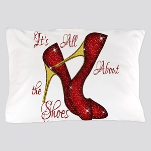 Red Ruby Slippers Pillow Case