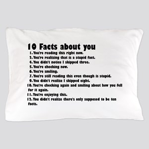 10 Facts about you Pillow Case