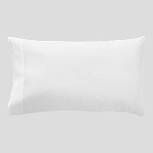lambo light blue Pillow Case