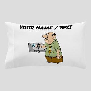Custom Air Traffic Controller Pillow Case