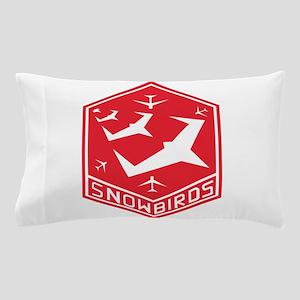 snow_bird_aerobatic Pillow Case