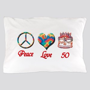 50th. Birthday Pillow Case