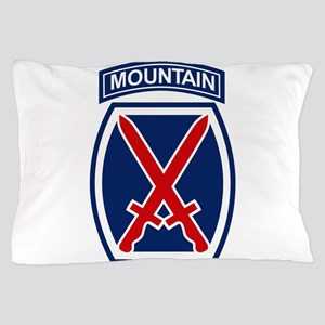 10th Mountain Division Pillow Case