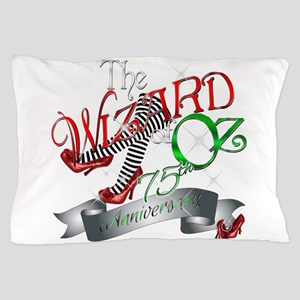 75th Anniversary Wizard of Oz Red Shoes Pillow Cas