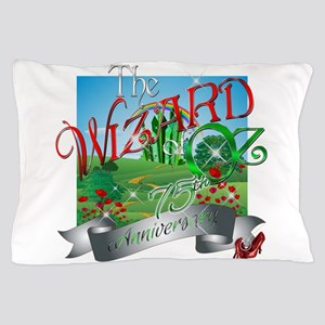 75th Anniversary Wizard of Oz Movie Poppies Pillow