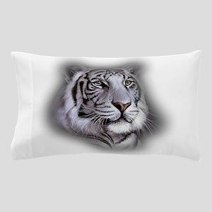 White Tiger Face Pillow Case