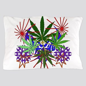 Marijuana Art Pillow Case