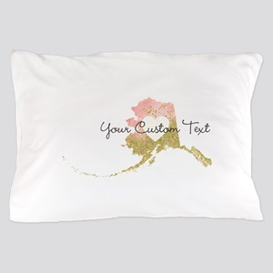 Personalized Alaska State Pillow Case