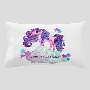 Cute Personalized Unicorn Pillow Case