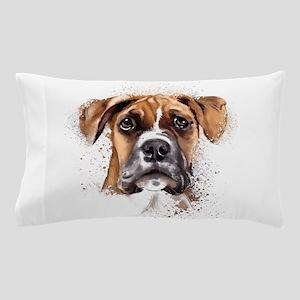 Boxer Painting Pillow Case