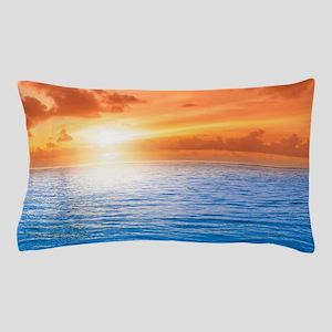 Ocean Sunset Pillow Case