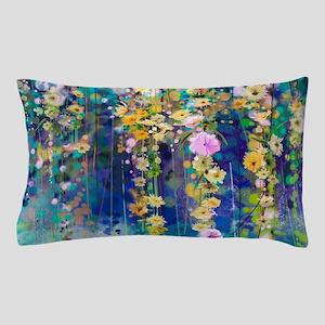 Floral Painting Pillow Case