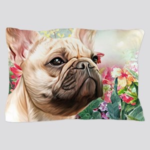 French Bulldog Painting Pillow Case