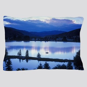 Mountain Lake Pillow Case