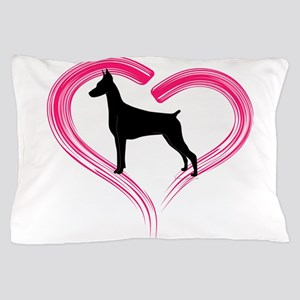 DobermanLove Pillow Case