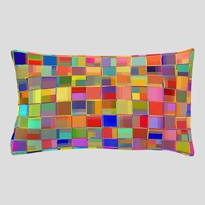 Color Mosaic Pillow Case
