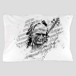 Paganini Violin Pillow Case