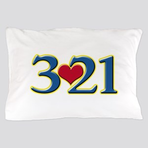 321 Down Syndrome Awareness Day Pillow Case